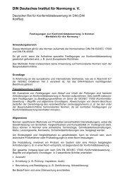 DIN Merkblatt Konformitätsbewertung - DIN Deutsches Institut für ...
