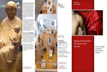 Flyer Förderkreis (PDF, 0,5 MB) - Diözesanmuseum Paderborn