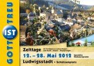Zelttage - Ludwigsstadt