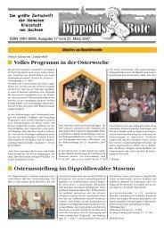 Volles Programm in der Osterwoche ... - Dippoldiswalde