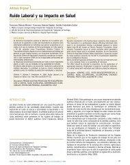 Ruido Laboral y su Impacto en Salud - BVSDE Desarrollo Sostenible