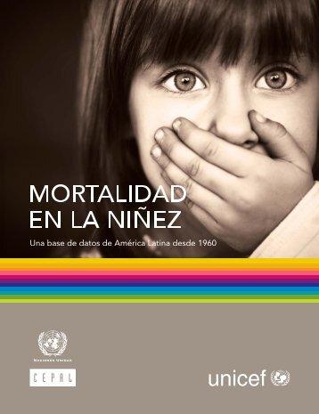 Mortalidad en la niñez : una base de datos - Cepal