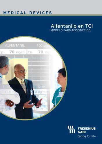 El modelo farmacocinético para Alfentanilo en TCI - AnestesiaR