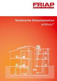 Technische Dokumentation airModul® 10. Merkblatt 04 - Friap AG