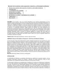 Revisión de los estudios sobre exposición al aluminio y enfermedad ...