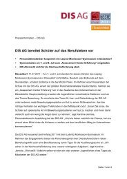zum Download - DIS AG