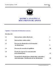 Documento de apoyo. Disoluciones - DePa - UNAM