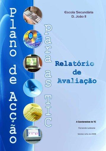 Relatório de Avaliação - Escola Secundária D. João II - Fccn