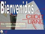 OXANA KHARISSOVA (UANL) - Red de Nanociencias y ...