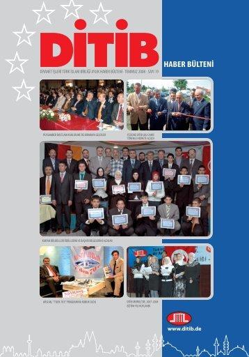HABER BÜLTENİ - Ditib