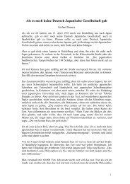 Prof. Knauss Erfahrung Japan - Deutsch - Japanische Gesellschaft ...
