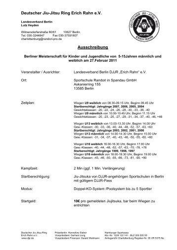 Braun- und Schwarzgurtprüfung - DJJR Deutscher Jiu Jitsu Ring ...