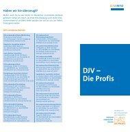DJV_Die Profis.indd - DJV Baden-Württemberg