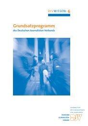 Grundsatzprogramm - DJV Baden-Württemberg