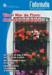 Maig 2006.pdf - Ajuntament de Vilassar de Mar