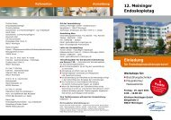 diesem Flyer - Rhön Klinikum AG