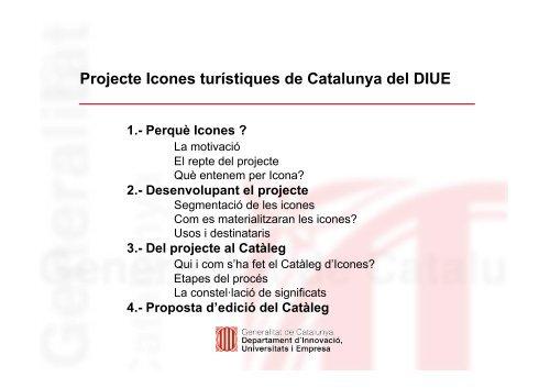 Icones turístiques de Catalunya - Premsa