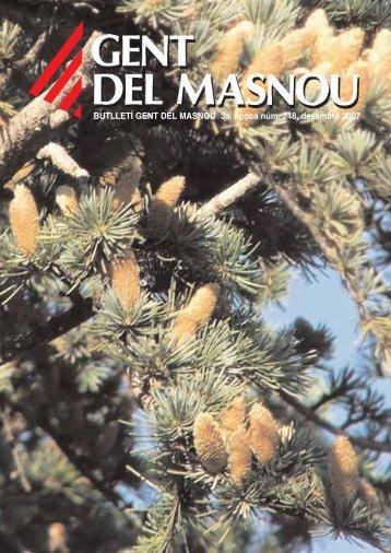 Butlletí nº 248, desembre 2007 - Gent del Masnou