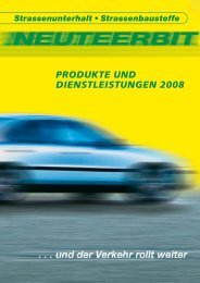 PRODUKTE UND DIENSTLEISTUNGEN 2008 - Neuteerbit AG