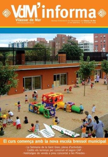 VDM INFORMA set-oct - Ajuntament de Vilassar de Mar