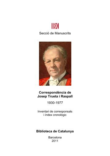 Inventari - Biblioteca de Catalunya