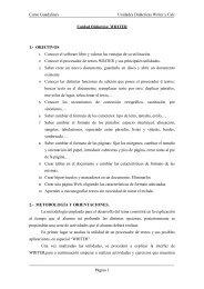 Unidad Didáctica: LA HOJA DE CÁLCULO CALC - Sociedad ...