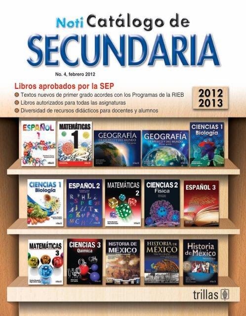Libros aprobados por la SEP - Editorial Trillas