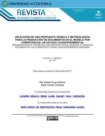 Aplicación de una propuesta teórica y metodológica para la ...