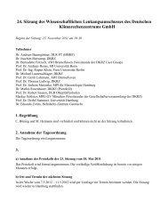 24. Sitzungsprotokoll, 25. 11. 2011 - DKRZ