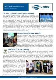 Ausgabe 11, Dezember 2012 - DKRZ