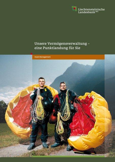 LLB - Unsere Vermögensverwaltung - Liechtensteinische Landesbank