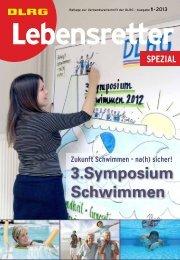 Lebensretter SPEZIAL 1/2013 - DLRG