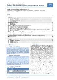 Selbst- und Fremdrettung: Erkennen, Beurteilen, Handeln - DLRG
