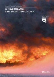 LA INVESTIGACIÓ D'INCENDIS I EXPLOSIONS - Recercat