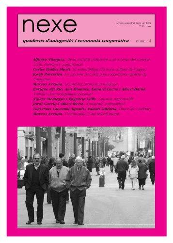 nexe 14 Portada - Federació de Cooperatives de Treball de Catalunya