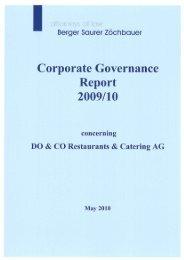 2009/10 - Do & Co
