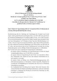 Bericht-Vorstand TOP 9 (PDF 30KB) - Do & Co