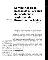 La vitalitat de la impremta a Perpinyà del segle XVI al segle XIX: de ...