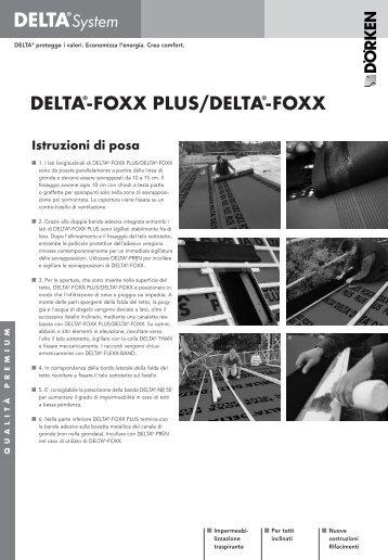 DELTA®-FOXX PLUS/DELTA®-FOXX