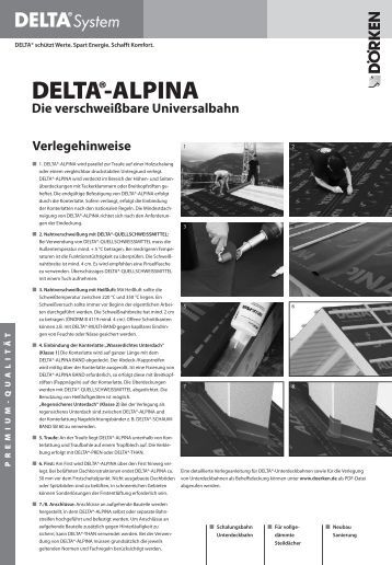 noppenbahn delta nb. Black Bedroom Furniture Sets. Home Design Ideas