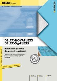 DELTA®-NOVAFLEXX / DELTA®-Sd-FLEXX
