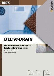DELTA®-DRAIN