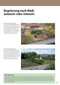 Planungsgrundlagen Begrünte und genutzte ... - Ewald Dörken AG - Seite 7
