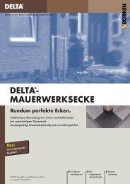 DELTA®- MAUERWERKSECKE - Ewald Dörken AG