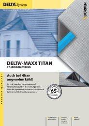 DELTA®-MAXX TITAN Thermomembran