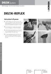 Istruzioni di posa DELTA®-REFLEX