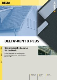 DELTA®-VENT X PLUS