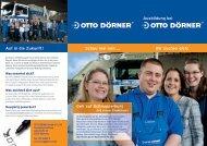 Ausbildung bei Auf in die Zukunft! - Otto Dörner Unternehmensgruppe