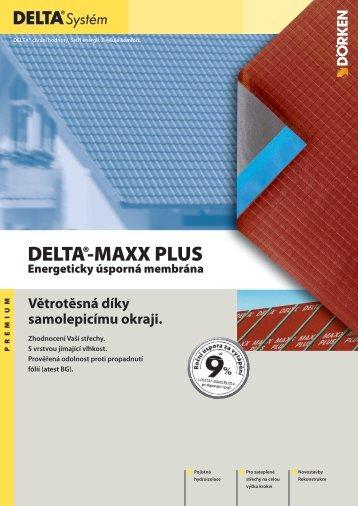 DELTA®-MAXX PLUS Energeticky úsporná membrána