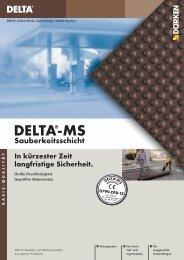 DELTA®-MS Sauberkeitsschicht - Ewald Dörken AG